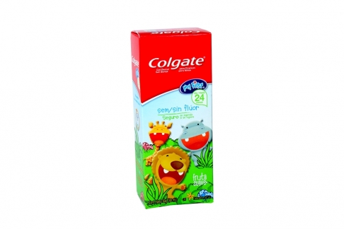 Colgate Gel Dental Sin Flúor Caja Con Tubo Con 40 mL
