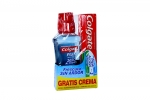 Colgate Plax Enjuag Soft Mint X 250 mL Gtis Crema T/Accion X 63 mL