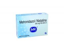Metronidazol / Nistatina Caja X 10 Óvulos Rx2