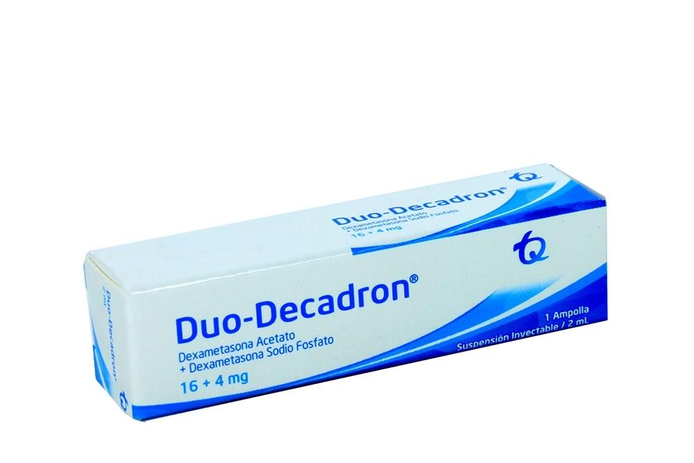 Duo-Decadron Suspensión Inyectable 2 mL Caja Con 1 Ampolla