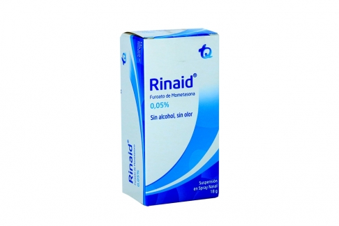 Rinaid 0.05% Suspensión Nasal Spray x 18 g RX