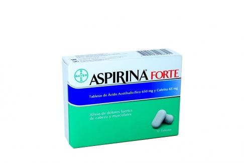Aspirina Forte Caja Con 12 Tabletas