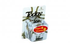 Condones Today Triple Pleasure Caja Con 8 Unidades