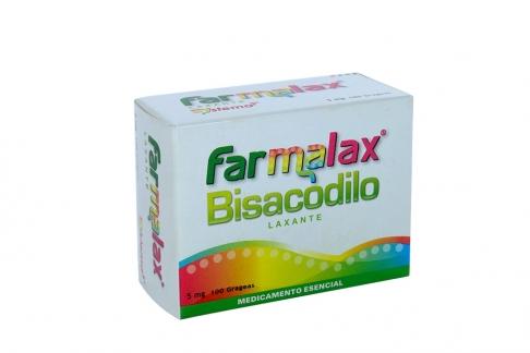 Farmalax 5 mg Caja Con 100 Grageas
