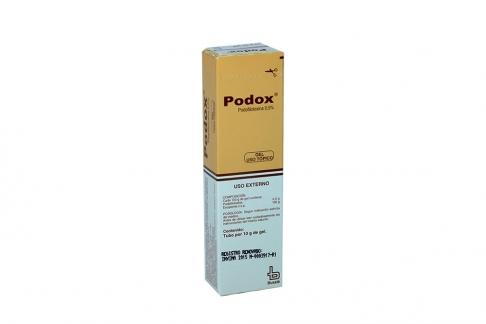 Podox 0.5 % Gel Caja Con Tubo X 10 g Rx