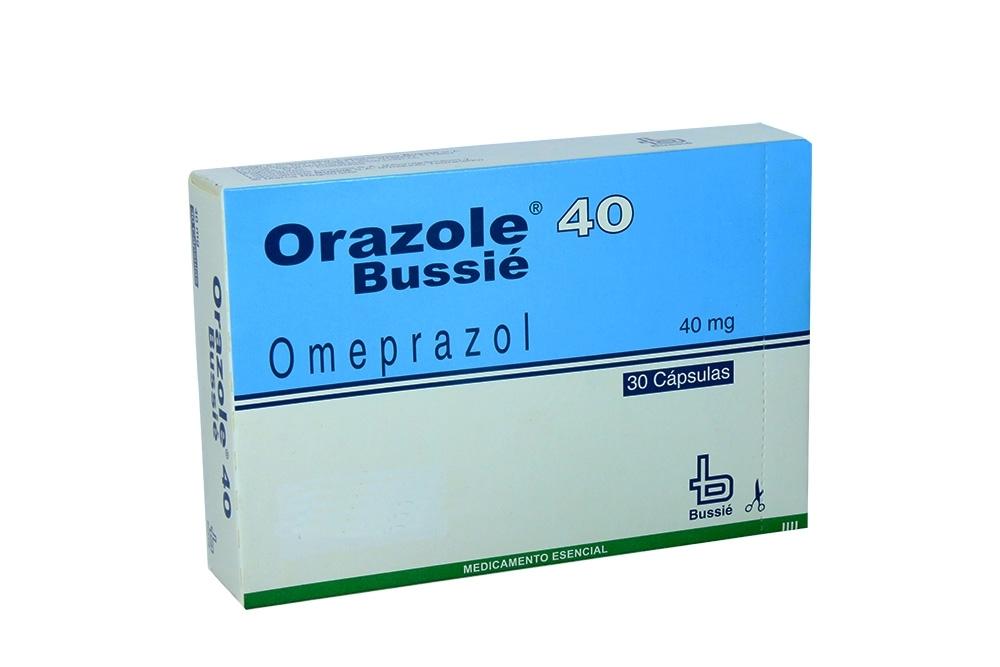 Orazole 40 mg Caja Con 30 Cápsulas Rx4