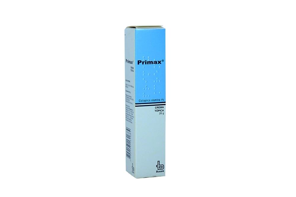 Primax Crema 1% Caja Con Tubo Con 20g Rx