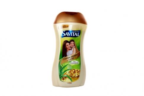Savital Shampoo Embrión De Pato y Sábila Frasco x 550 mL
