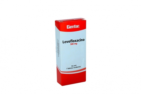 Levofloxacino 500 mg Caja X 7 Tabletas Rx2