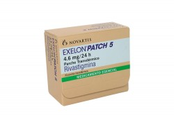 Exelon Patch 5  4.6 mg / 24 h Caja Con 30 Parches Transdérmicos Rx1 Rx4