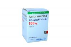Ambramicina 500 mg Caja Con 240 Cápsulas Rx2