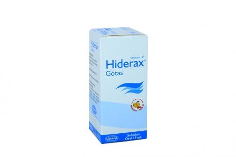 Hiderax Solución Oral Caja Con Frasco Con 15 mL Rx