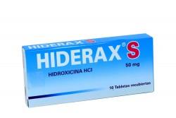 Hiderax S 50 mg Caja x 10 Tabletas Recubiertas Rx