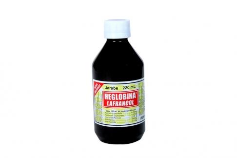 Heglobina Jarabe Frasco Con 220 mL Rx