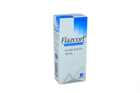 Flazcort Loción 0.1 % Caja Con Frasco Gotero Con 30 mL Rx