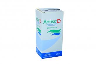 Antiss D Solución Oral Caja Con Frasco Con 60 mL Rx
