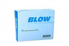 Blow 4 mg Caja Con 10 Tabletas Rx