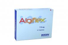 ALGIFLEX 7.5 MG CAJA X 10 TABLETAS Rx