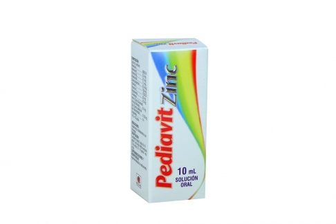 Pediavit Zinc Solución Frasco X 10 mL