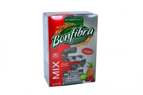 Bonfibra Caja Con 30 Gomas Con 159 g - Sabor Variado