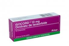 Isocord 10 mg Caja x 30 Comprimidos Rx