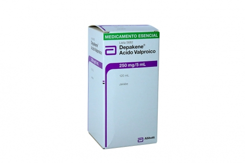 Depakene Jarabe 250 mg / 5 mL Caja Con Frasco x 120 mL Rx4