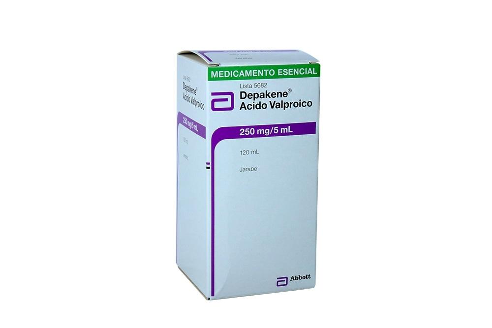 Depakene Jarabe 250 mg / 5 mL Caja Con Frasco Con 120 mL Rx4