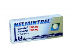 Helmintrel 100 mg /100 mg Caja x 6 Tabletas Rx