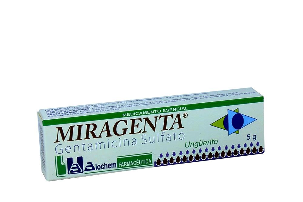 Miragenta Ungüento Caja Con Tubo Con 5 g Rx Rx2