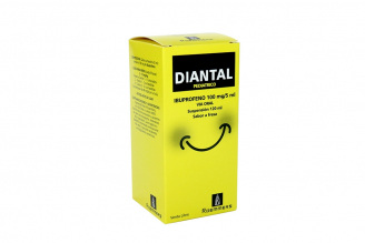 Diantal Pediátrico 100 mg Caja Con Frasco 120 mL