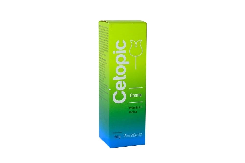 Cetopic Crema Caja Con Tubo Con 30 g