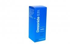 Desonida Locion Capilar Caja Con Frasco Con 30 mL Rx