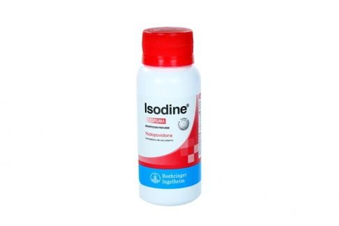 Isodine Espuma Frasco x 60 mL