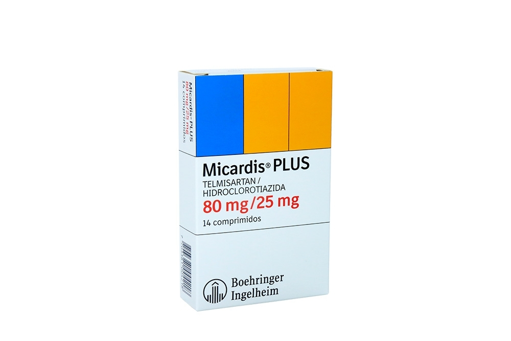 Micardis Plus 80 / 25 Mg Caja Con 14 Comprimidos RX