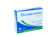 Dexametasona 4 mg / mL Caja Con 10 Ampollas Rx