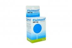 Fluimicil Polvo 200 mg Caja Con 30 Sobres