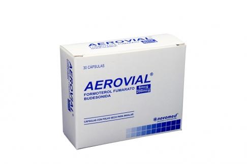 Aerovial 6 / 200 mcg Caja Con 30 Cápsulas Rx  Rx1