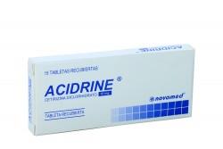 Acidrine 10 mg Caja Con 15 Tabletas Recubiertas Rx