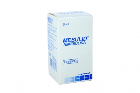Mesulid 1% Suspension Frasco Con 60 mL Rx