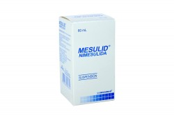 Mesulid 1% Suspension Frasco x 60 mL Rx