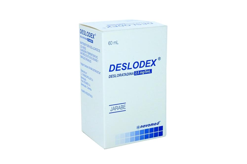 Deslodex 2.5 mg / 5 mL Caja Con Frasco Con 60 mL Rx
