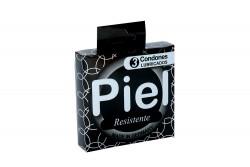 Preservativo Piel Resistente Caja x 3 Condones