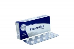 Flunarizina 10 mg Caja Con 20 Tabletas Rx