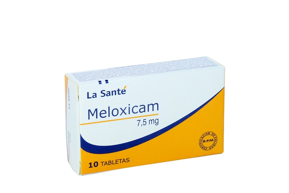 Meloxicam La Santé 7.5 mg Caja Con 10 Tabletas  Rx