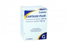 Cartilox Plus Granulado 1500 / 1200 mg Caja Con 14 Sobres Rx4