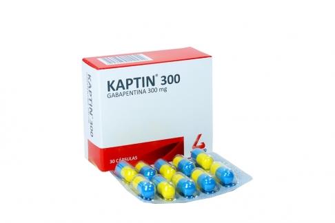 Kaptin 300 mg Caja Con 30 Cápsulas Rx4