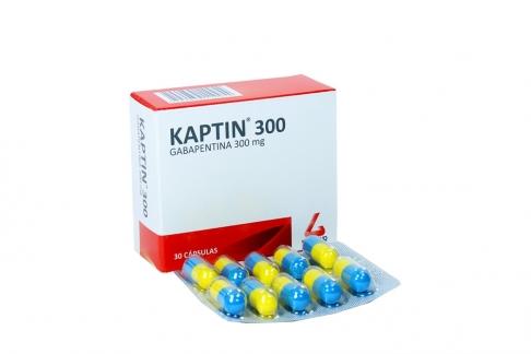 Kaptin 300 mg Caja Con 30 Cápsulas Rx4 Rx1