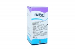 Fluifort 9% Jarabe Caja Con Frasco Con 120 mL - Adultos