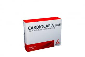 Cardiocap-A 80 / 5 mg Caja Con 30 Cápsulas Rx