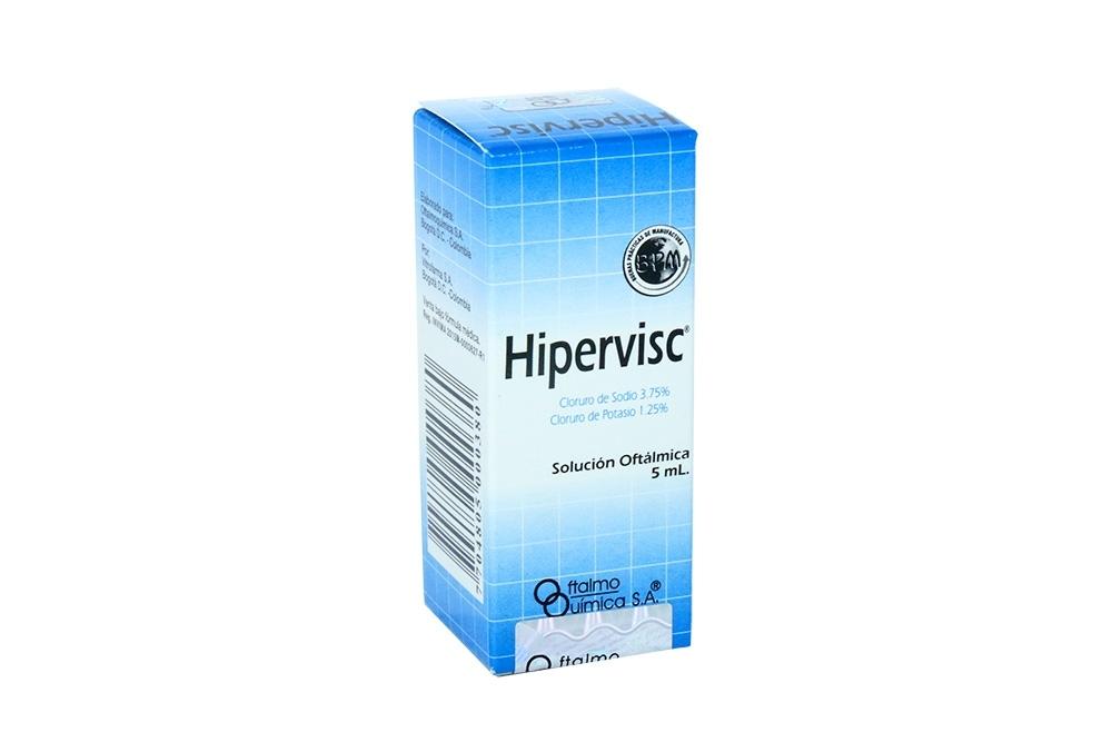 Hipervisc Caja Con Frasco Gotero Con 5 mL Rx